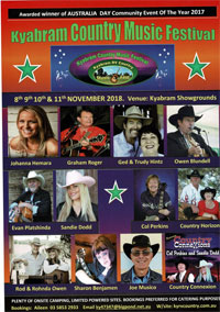 Kyabram RV Country Music Festival